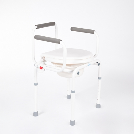 Ausilio Per il bagno Vassilli rialzo stabilizzante per WC con braccioli ribaltabili
