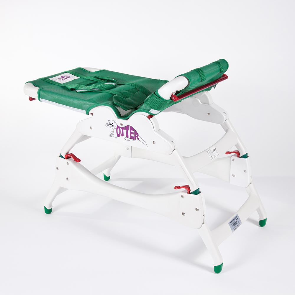 Ausilio bagno Allmobility Base universale con Sdraietta Fochetta Otter