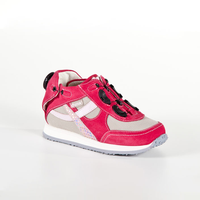 Scarpa ortopedica Duna Sport Twist Girl fragola