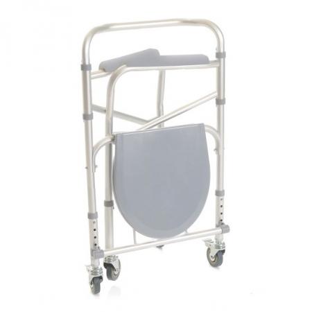 Ausilio Bagno Moretti sedia comoda 4 in 1 smontabile su ruote 1