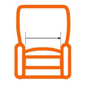 Larghezza seduta