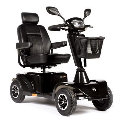 scooter s700 sunrise medical nero
