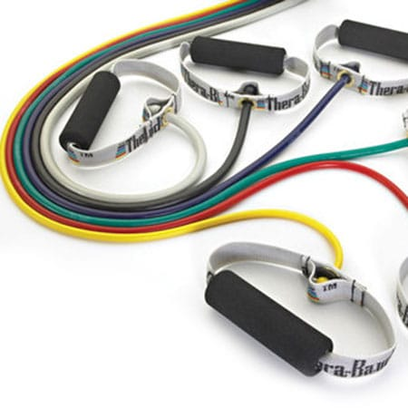 Tubing con impugnature in pvc Thera-Band