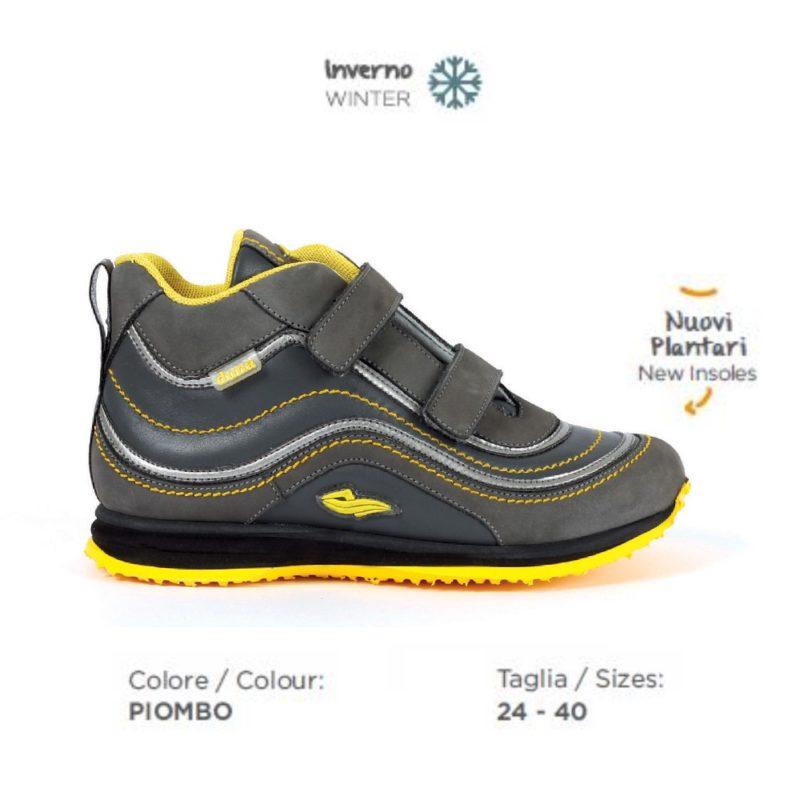 quantità limitata scarpe esclusive nuovo aspetto Scarpa ortopedica Duna Snicky JW03MIZARV Piombo
