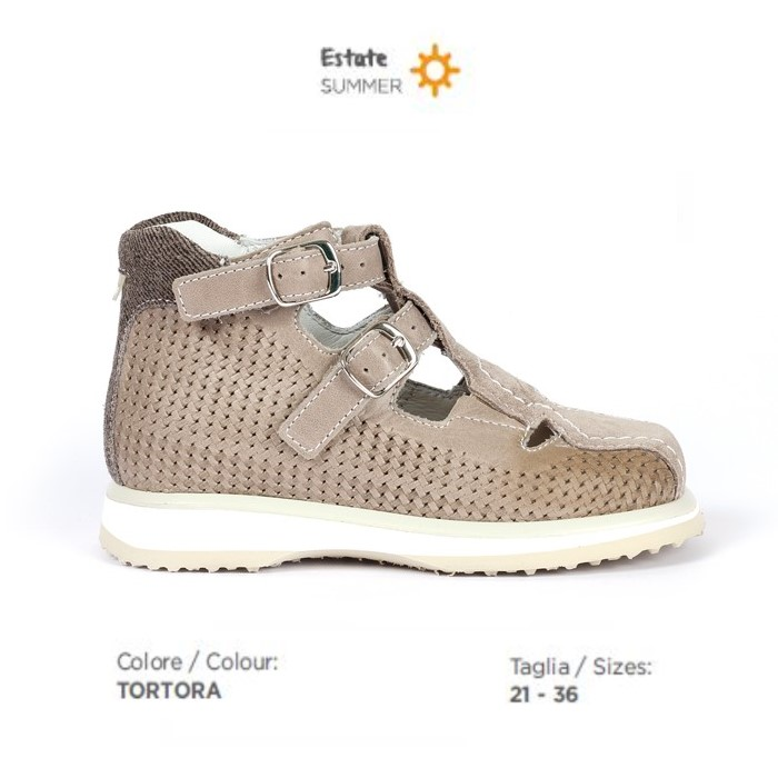 Sandalo ortopedico Duna Top JS10710 Azzurro Media Reha
