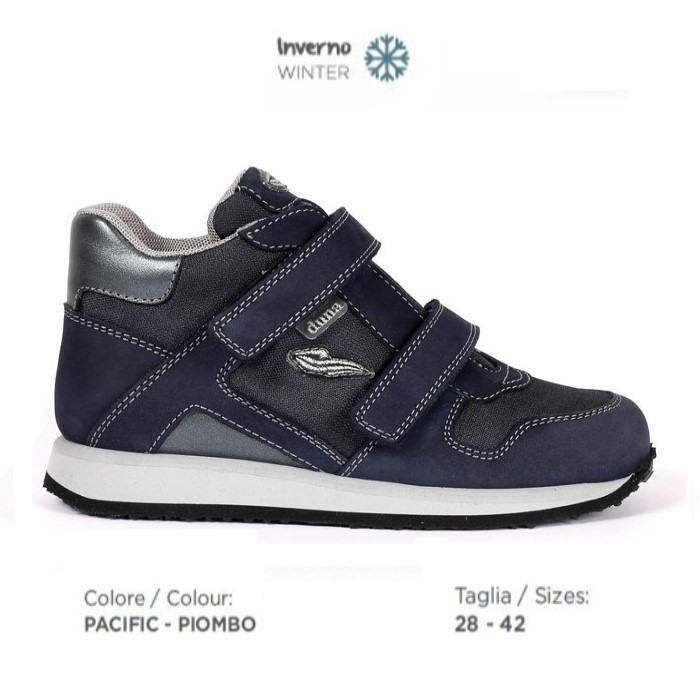 belle scarpe data di rilascio prezzi di sdoganamento Scarpa ortopedica Duna Sport JW01RUAV Pacific Piombo