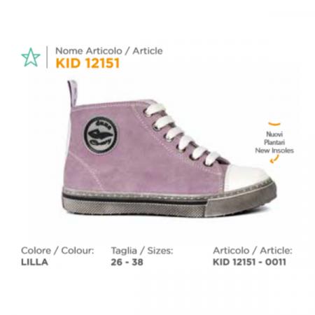 scarpa duna lacci kid12151 lilla (2)