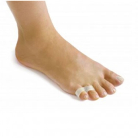 Double looped small toe corrector