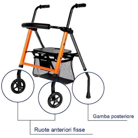 rollator ogi seat pro I