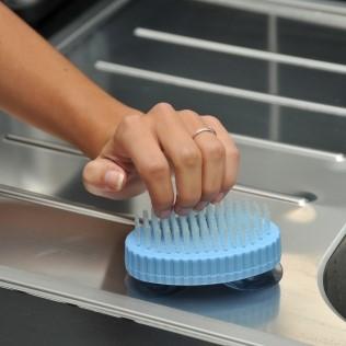 spazzola lavaggio unghie mano a ventosa