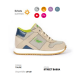 scarpa ortopedica duna street bassa colore taupe