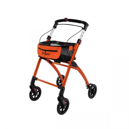 rollator interni jaguar mobilex arancio