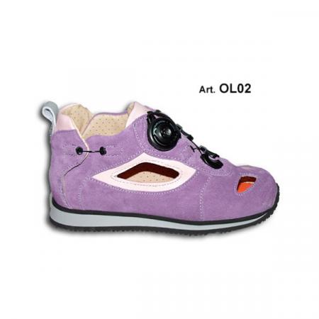 scarpa ortedica Boa Olly Easy Up Diomedi Salus lilla