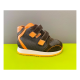 scarpa ortopedica duna jw01 happy velcro acciaio orange